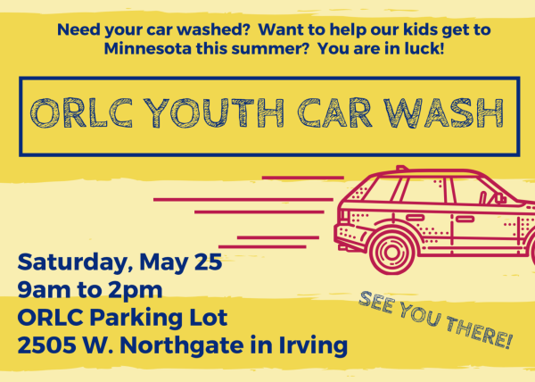 Come get your car cleaned this Saturday for a good cause!
